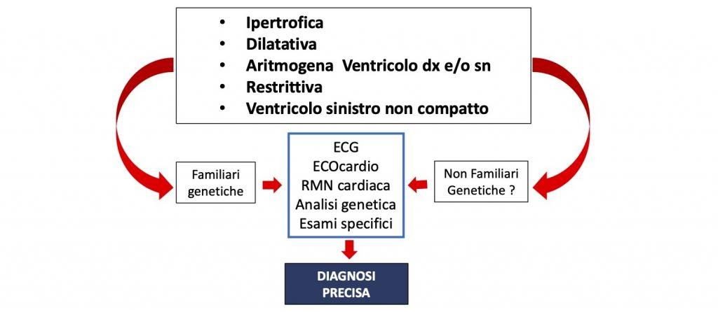 Cardiomiopatie - schema